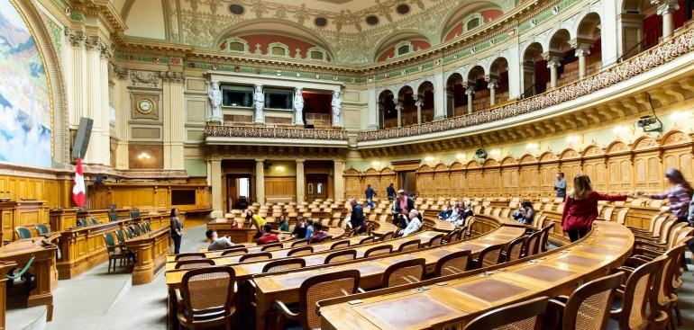 Parlamentssaal Schweiz